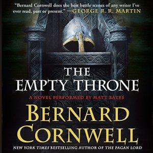 The Empty Throne audiobook cover art