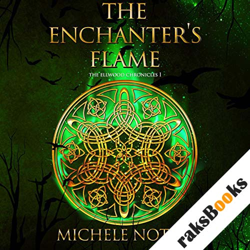 The Enchanter's Flame audiobook cover art