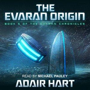The Evaran Origin audiobook cover art
