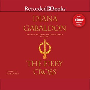 The Fiery Cross audiobook cover art