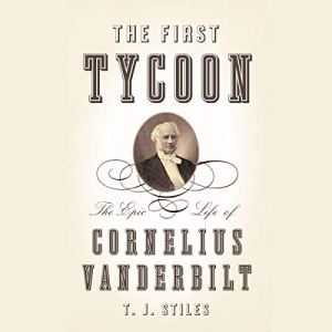 The First Tycoon audiobook cover art