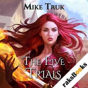 The Five Trials audiobook cover art