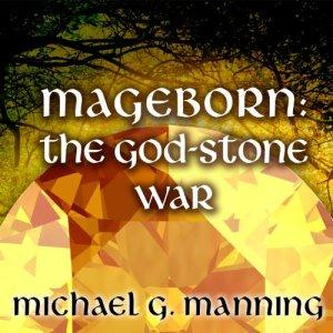 The God-Stone War audiobook cover art