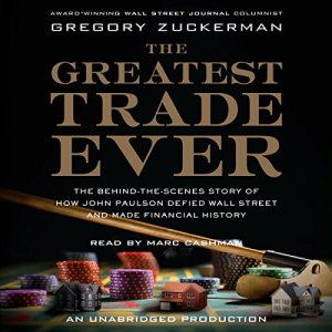 The Greatest Trade Ever audiobook cover art