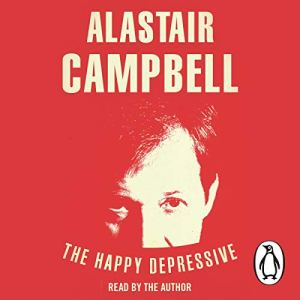 The Happy Depressive audiobook cover art