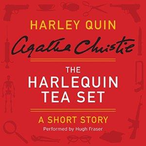 The Harlequin Tea Set audiobook cover art