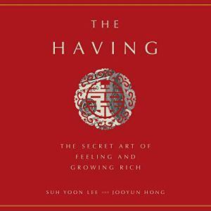 The Having audiobook cover art