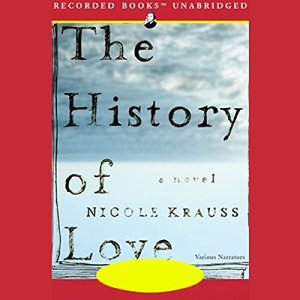 The History of Love audiobook cover art