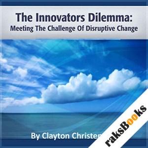 The Innovator's Dilemma audiobook cover art