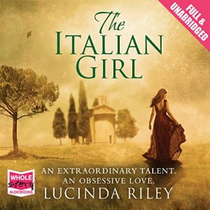The Italian Girl audiobook cover art