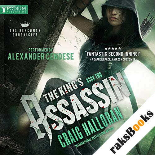 The King's Assassin audiobook cover art
