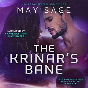 The Krinar's Bane: A Krinar World Novella audiobook cover art