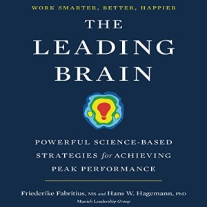 The Leading Brain audiobook cover art