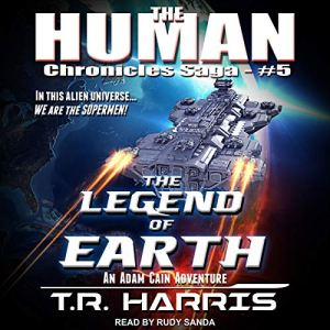 The Legend of Earth audiobook cover art