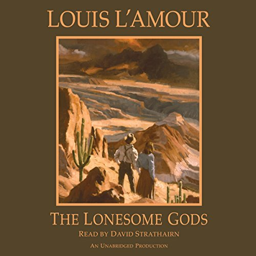 The Lonesome Gods audiobook cover art