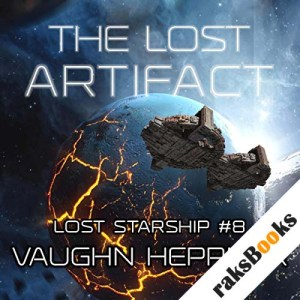 The Lost Artifact audiobook cover art