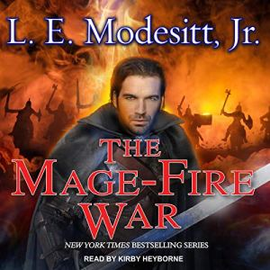 The Mage-Fire War audiobook cover art