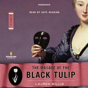 The Masque of the Black Tulip audiobook cover art