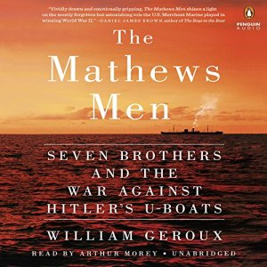 The Mathews Men audiobook cover art