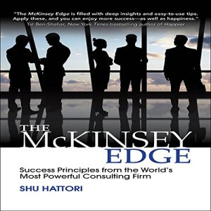 The McKinsey Edge audiobook cover art