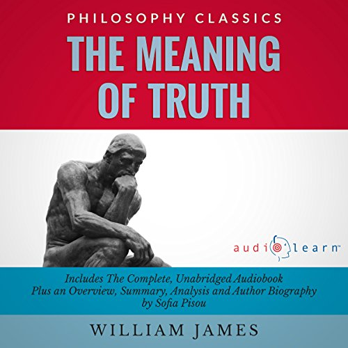 The Meaning of Truth audiobook cover art
