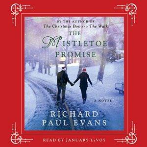 The Mistletoe Promise audiobook cover art