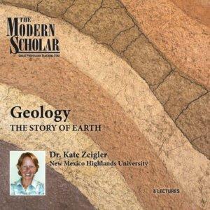 The Modern Scholar: Geology audiobook cover art