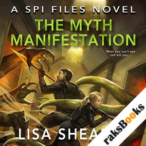The Myth Manifestation audiobook cover art