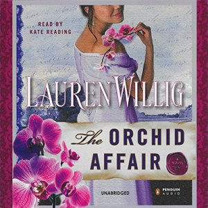 The Orchid Affair audiobook cover art