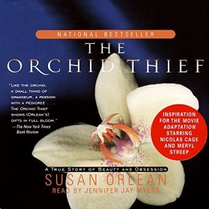 The Orchid Thief audiobook cover art