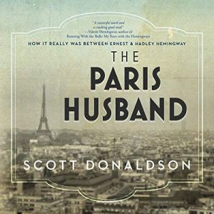 The Paris Husband audiobook cover art