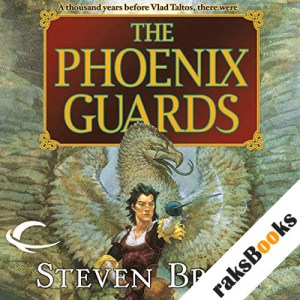 The Phoenix Guards audiobook cover art