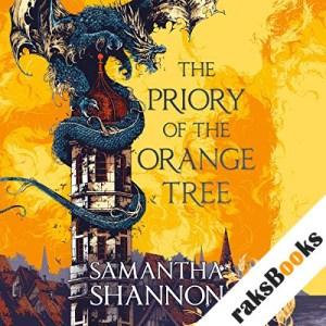 The Priory of the Orange Tree audiobook cover art