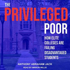 The Privileged Poor audiobook cover art