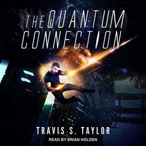 The Quantum Connection audiobook cover art