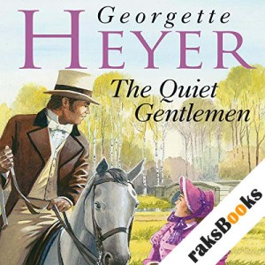 The Quiet Gentleman audiobook cover art