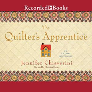 The Quilter's Apprentice audiobook cover art