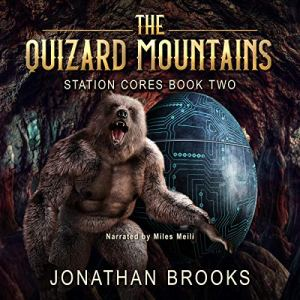 The Quizard Mountains audiobook cover art