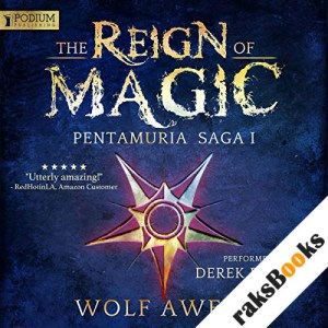 The Reign of Magic audiobook cover art