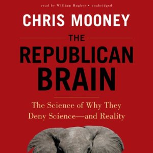 The Republican Brain audiobook cover art