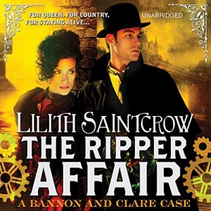 The Ripper Affair audiobook cover art