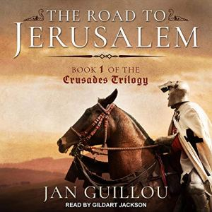The Road to Jerusalem audiobook cover art