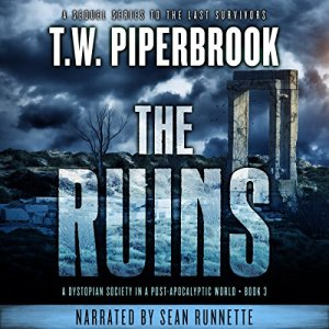 The Ruins, Book 3 audiobook cover art