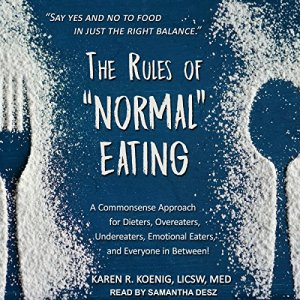 """The Rules of """"Normal"""" Eating audiobook cover art"""