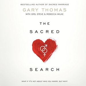 The Sacred Search audiobook cover art