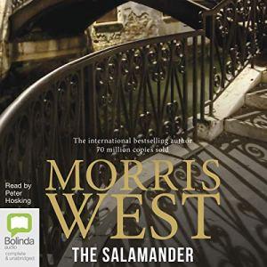The Salamander audiobook cover art