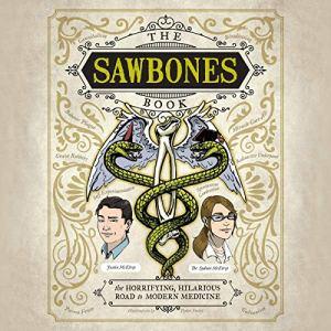 The Sawbones Book audiobook cover art