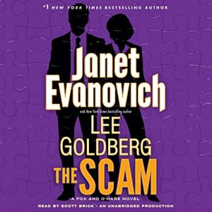 The Scam audiobook cover art