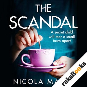 The Scandal audiobook cover art