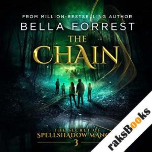 The Secret of Spellshadow Manor 3: The Chain audiobook cover art
